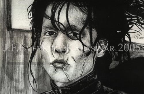 Johnny Depp by Kalasinar